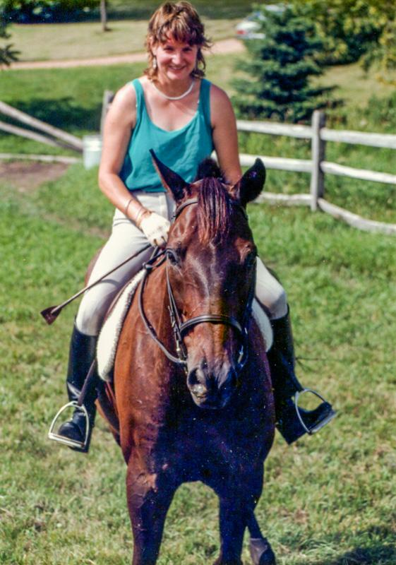 Sarah Bowman with horse
