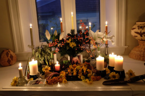 Ofrenda for Sarah Bowman