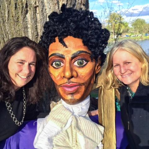 Sarah Bowman & Prince puppet